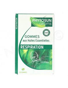 Phytosun Aroms Respiration Gommes Huiles Essentielles. 30 gommes