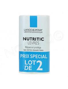 La Roche Posay Nutritic Lèvres - Lot 2 sticks