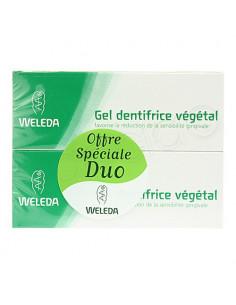 Weleda Gel Dentifrice Végétal Gencives Sensibles. Lot 2x75ml