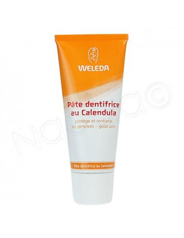 Weleda Pâte Dentifrice au Calendula. Tube 75ml