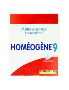 Homéogène 9. 60 comprimés