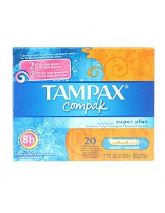Tampax compak Super plus. 20 tampons avec applicateur