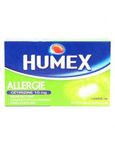 Humex allergie cétirizine 10mg 7 comprimés