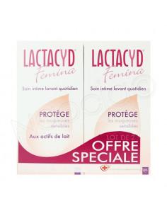 Offre Spéciale LACTACYD FEMINA Soin intime lavant quotidien. Lot de 2x400ml