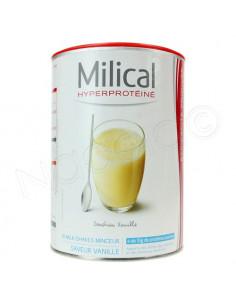 MILICAL hyperprotéiné Milk shake minceur Vanille. 18 portions de 30g