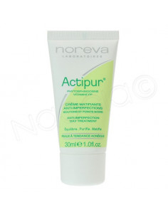 ACTIPUR Crème matifiante anti-imperfections. Tube de 30ml - ACL 4832080
