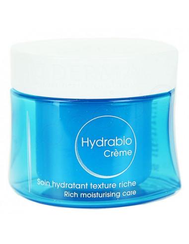 Bioderma Hydrabio Crème Soin Hydratant Texture Riche. 50ml