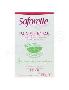 SAFORELLE Pain Surgras Savon adoucissant. Pain de 100g