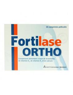 Fortilase Ortho. Boite de 20 comprimés