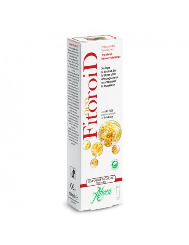 Aboca Neo FitoroiD Pommade Bio Endorectale Troubles Hémorroïdaires. 40ml