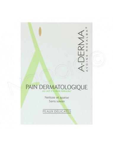 Aderma Pain Dermatologique au lait d'Avoine. Pain 100g
