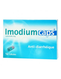 ImodiumCaps 2mg Anti-diarrhéique. 12 gélules