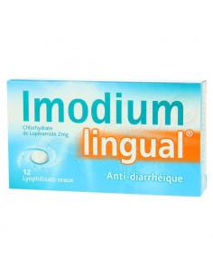 Imodiumlingual 2mg 12 lyophilisats