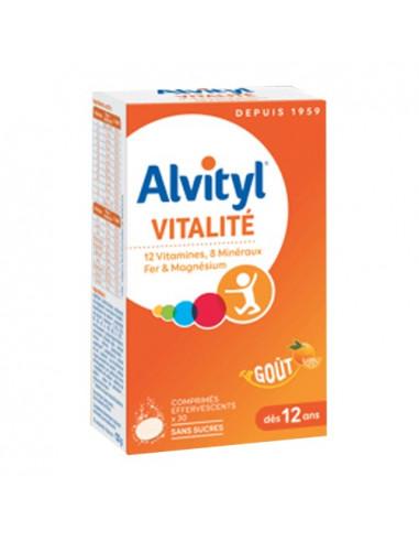Alvityl Vitalité. 30 comprimés effervescents