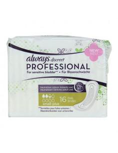 Always Discreet Professional. 16 serviettes Small Plus