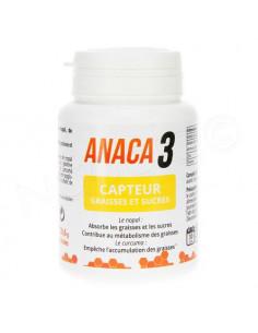 Anaca 3 Capteur Graisses et Sucres. 60 gélules