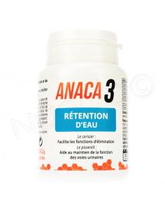 Anaca3 Rétention d'Eau. 60 gélules - élimination rénale & élimination et débit urinaire