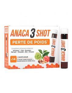 Anaca3 Shot Perte de Poids. 14x25ml