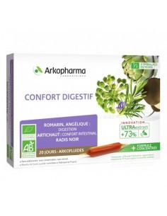 Arkopharma Confort Digestif Arkofluides UltraExtract. 20 ampoules
