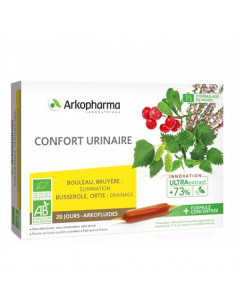 Arkopharma Confort Urinaire Arkofluides UltraExtract. 20 ampoules