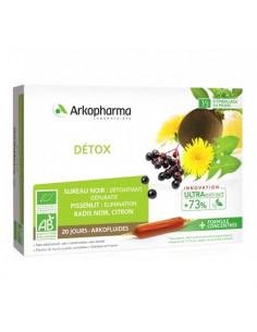 Arkopharma Détox Arkofluides UltraExtract. 20 ampoules