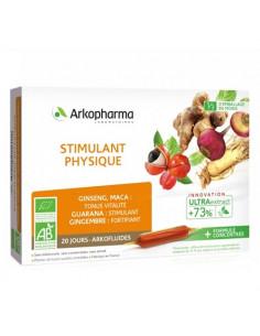 Arkopharma Stimulant Physique Arkofluides UltraExtract. 20 ampoules