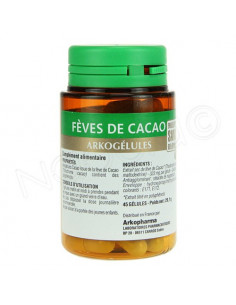 Arkogelules Fèves Cacao. Flacon de 45 - ACL 4443220