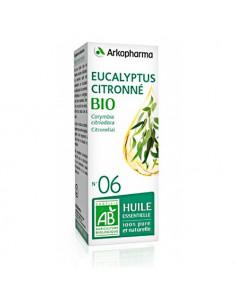 Arkopharma Eucalyptus Citronné Bio N°6 Huile Essentielle. 10ml