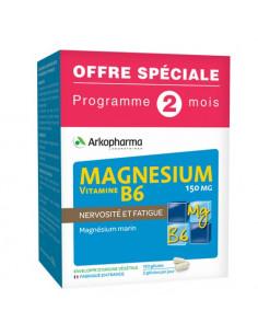 Arkopharma Magnésium Vitamine B6. 120 gélules