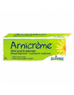 Boiron Arnicrème Fatigue Musculaire sensations de courbatures idéal pour le massage. 70g -
