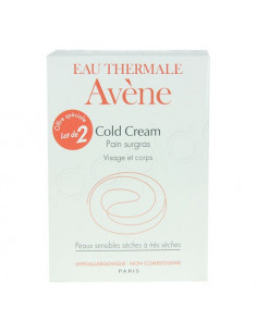 AVENE COLD CREAM Pain surgras visage et corps. Lot 2x100g - ACL 7515977