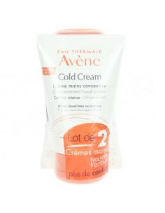 Avène Cold Cream Crème Mains Concentrée. Lot 2x50ml