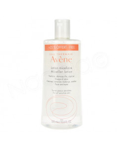 Offre Avene Lotion Micellaire 500ml dont 25% Offert -