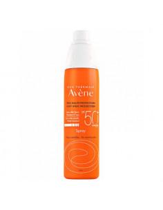 Avène Spray Solaire SPF50+ Peaux Sensibles. 200ml - visage et corps