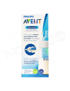 Avent Anti-colic AirFree Biberon 1m+ 260ml