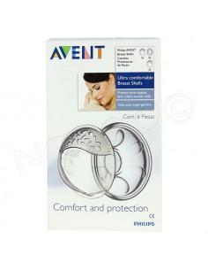 AVENT Coupelles d'allaitement confort. Boîte de 2 coupelles - ACL 7571705