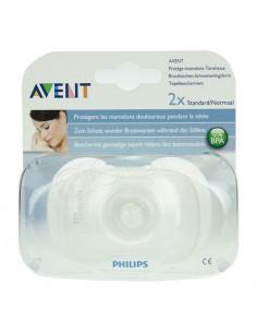 AVENT Protège-mamelon silicone. Boîte de 2 protèges-mamelons standard/Normal - ACL 6641639