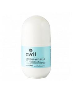 Avril Déodorant Bille Bio. Roll-on 50ml