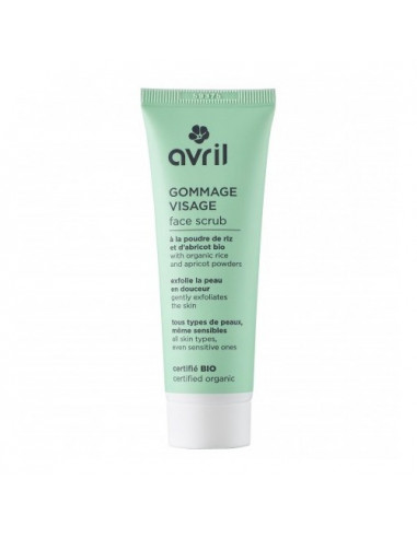 Avril Gommage Visage Bio. 50ml