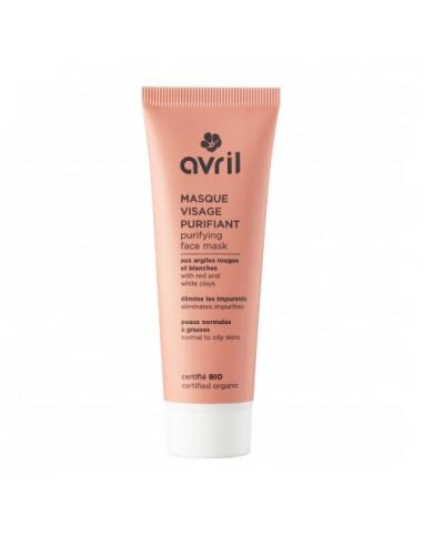Avril Masque Visage Purifiant Bio. 50ml