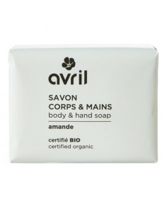 Avril Savon Corps & Mains Amande Bio. 100g
