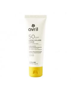 Avril SPF50 Crème Solaire Visage Bio. 50ml