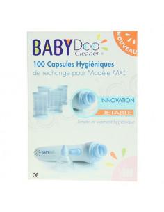 BABYDOO Capsules Hygiéniques jetables mouche BéBé. Boîte de 100- ACL 4666090