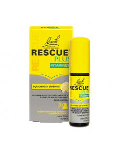 Bach Rescue Plus Vitamines. Spray 20ml