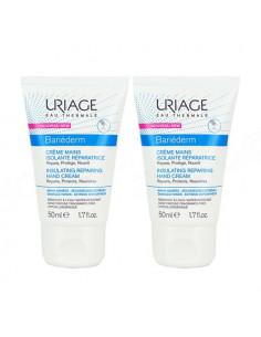 Uriage Bariéderm Crème Mains Isolante Réparatrice. Lot 2x50ml