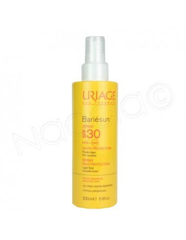 Uriage Bariésun Spray solaire SPF30. Vaporisateur 200ml