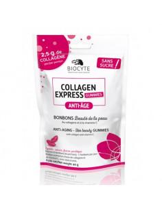 Biocyte Collagen Express Gummies Anti-âge Bonbons Beauté. 80g