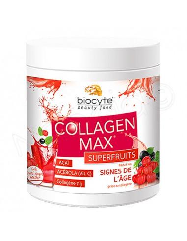 Biocyte Collagen Max Superfruits. Pot 260g