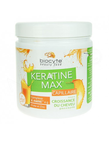Biocyte Keratine Max Capillaire multrifruits 240g
