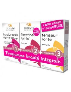 Biocyte Programme Beauté Intégrale. 2 boites achetées : 1 boite OFFERTE